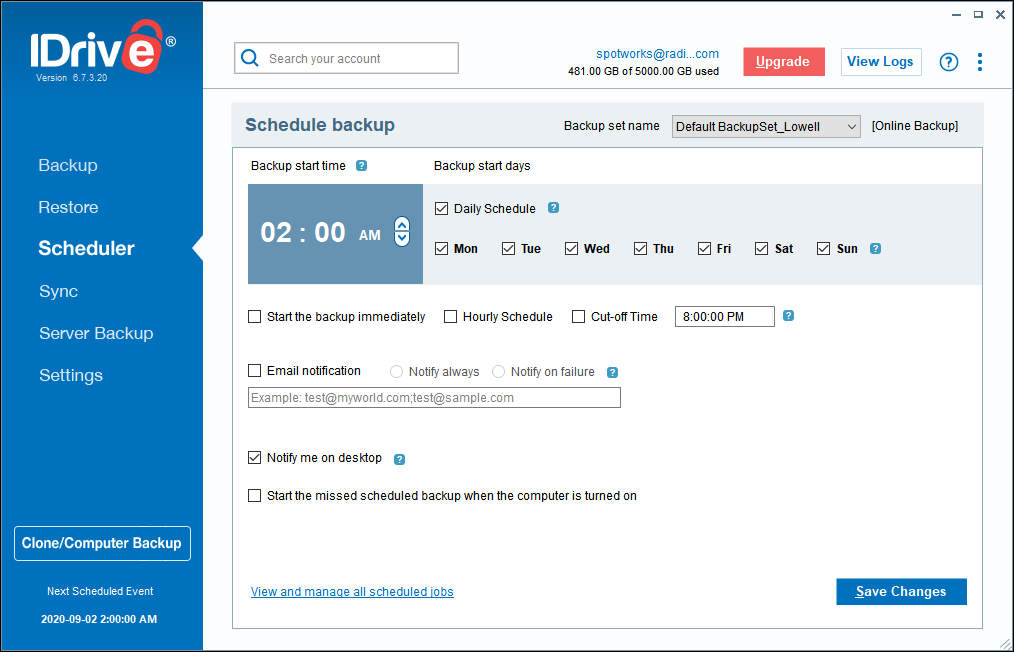 IDrive Online BackUp Review